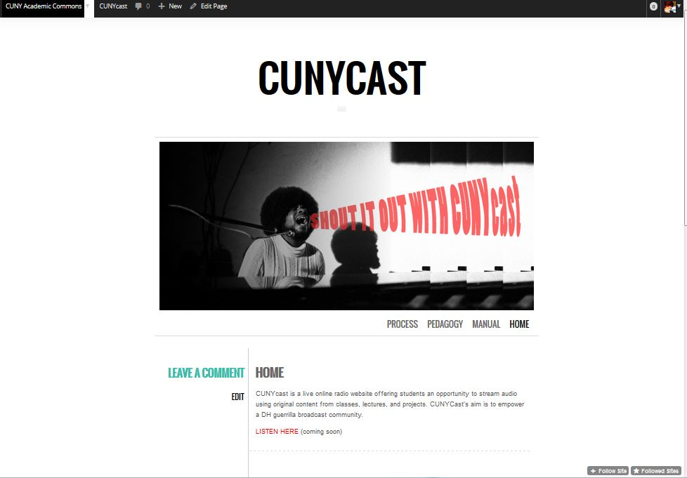 CUNYcast